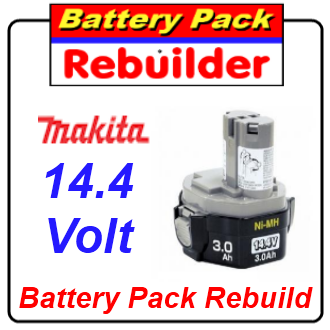 makita 1433 1434 battery rebuild re cell replacement. Black Bedroom Furniture Sets. Home Design Ideas
