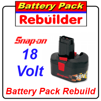 snap on 18v ctb3185 battery rebuild re cell replacement
