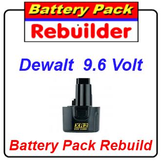 Dewalt 9.6 volt recell