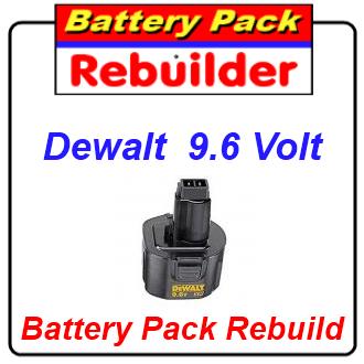 How to rebuild dewalt 9.6 battery