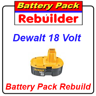 Dewalt 18v Dc9096 Xrp Battery Rebuild Re Cell Replacement Batterypackrebuilder Com