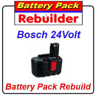 bosch 24v battery pack rebuild re cell replacement repair