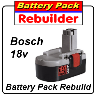 bosch 18v bat026 battery rebuild re cell replacement