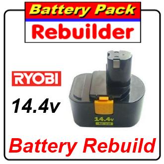 ryobi 14.4 battery rebuild