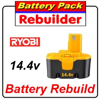 Ryobi 14.4v battery rebuild