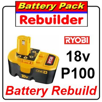 Ryobi 18v battery rebuild