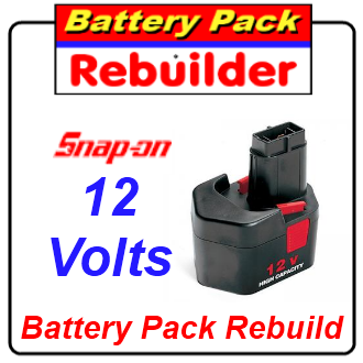 Snap On 12v CTB312 battery rebuild / recell / replacement / repair