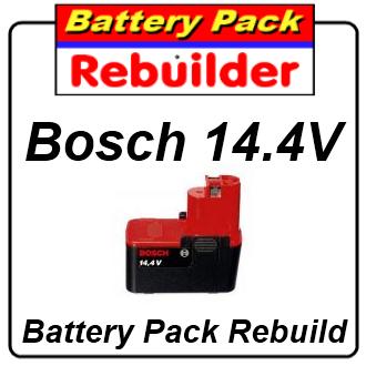 Bosch 14.4v BAT013 & BAT015 battery rebuild / recell